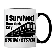 I survived NEW YORK Subway System Coffee Mug - £14.98 GBP