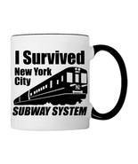 I survived NEW YORK Subway System Coffee Mug - €17,68 EUR