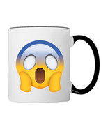 Afraid Feeling EMOJI, 11oz. Coffee Mug - €17,68 EUR
