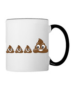 POO POOP Emoji Family, 11oz. Coffee Mug - €17,68 EUR