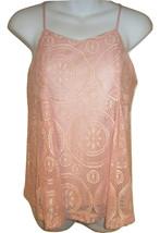 Japna pink lace tank top sz S cami NEW 12685 - $12.00
