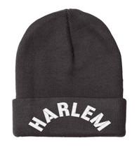 HARLEM New York, Embroidered, Beanie, 12 inch - $14.99
