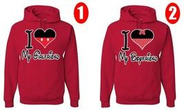 Disney Figure, I love my Boyfriend and Girlfriend, Perfect Couple, 2 Hoodies - $54.99