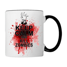Keep Calm And Kill Zombies… on a Coffee Mug - £14.98 GBP