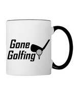 Gone Golfing, For real Golfers Golf Iron, 11oz. Coffee Mug - €17,68 EUR