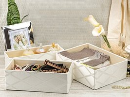 Drawer Organizer Clothing Galliana Set of 3 Col... - $30.43