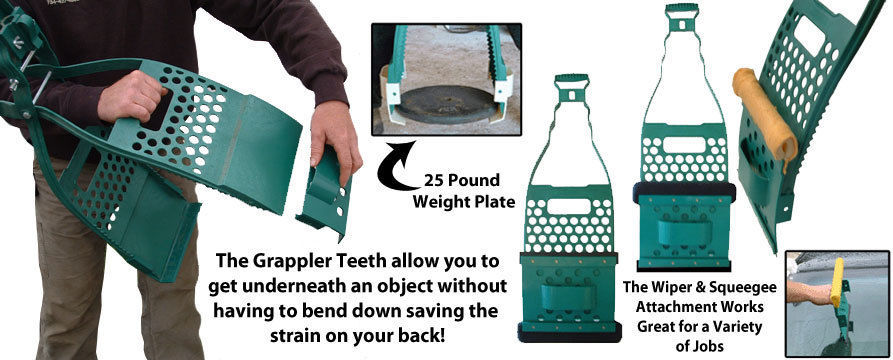 The Grappler ~ The Ultimate Outdoor Fall//Spring Cleanup Tool For Lawns /& Gardens