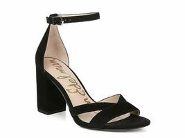 Sam Edelman Omar Sandal Adjustable Ankle Strap Closure Size 8 Color Black - $72.92
