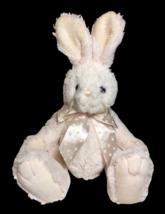 Bearington Collection Plush Bunny Rabbit Soft Plush Light Blush Pink Col... - $29.00