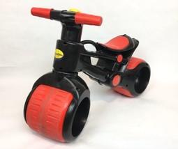 PlaSmart Plasmabike Toddler Balance Bike Development Toy / Red & Black - $42.03