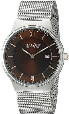 Primary image for Caravelle New York Men's 45B138 Analog Display Quartz Silver Watch