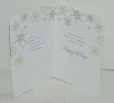 Hallmark XZH 644 1 Snowflakes Deer Gold Ribbon Christmas Card Package 4 image 2