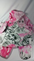 (1) Pink Disney princess fleece stroller blanket - $19.80