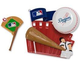 CAKEMAKE MLB Home Run, Cake Topper, Los Angeles Dodgers - $14.80