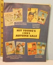 1992 Kit Young's Autumn Sale Mail Catalog - $3.95