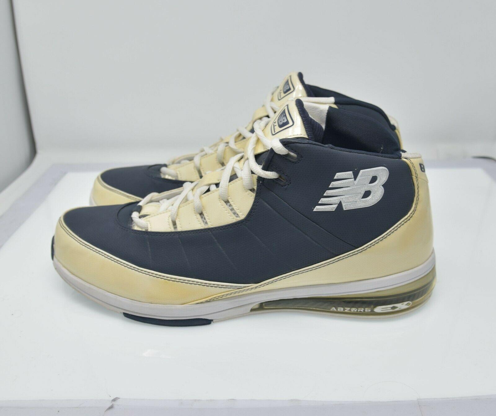 New Balance Exclusive Men's Sz 16 EU 51 High Top Sports Basketball Shoes