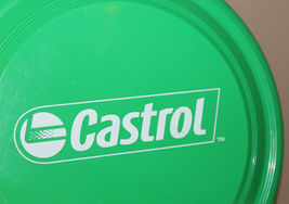 Castrol Oil Green Frisbee Garyline Made in USA image 6