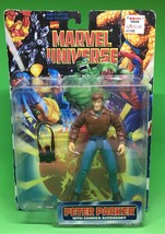 "Marvel Universe Peter Parker with Camera Accessory 5"" action figure 1997... - $14.03"