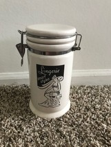Vintage Pin Up Girl Graphic Coffee Container - $29.69