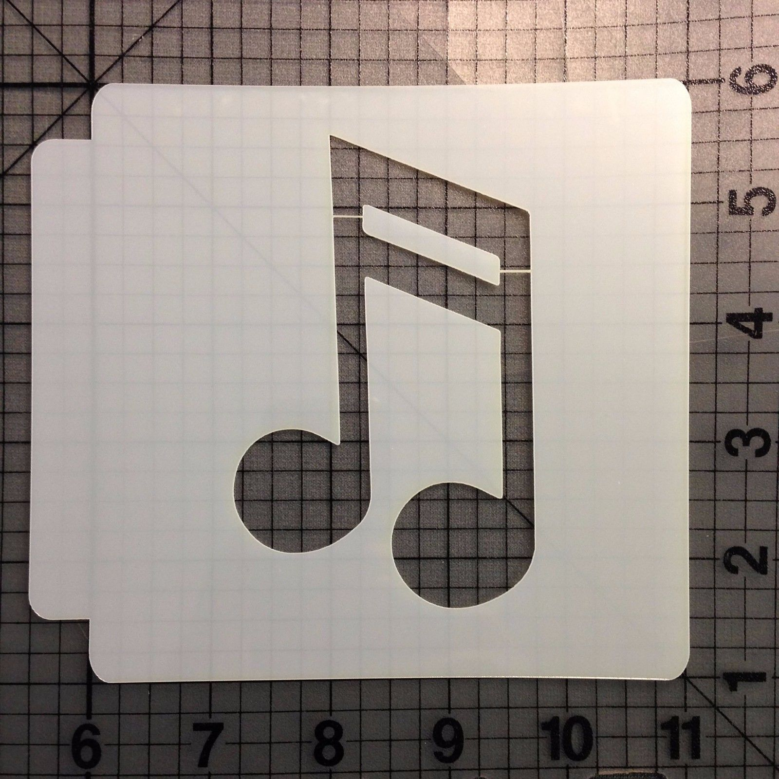Music Note Stencil 102 - $3.50 - $15.50