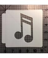 Music Note Stencil 102 - $3.50+