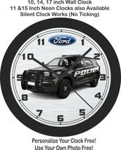 Ford Explorer Police Interceptor Wall Clock-Free US Ship - $27.71+