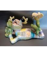 KoKo originals Patchwork Frog Signerd 2002, Athena Boulgarides  - $9.00