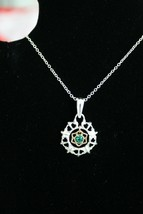 Avon Personal Touch Birthstone Necklace - May - New In Box - Ships Free - $12.75