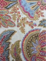 Ralph Lauren Duvet Cover Set Full Queen 3pc Boho paisley tan red blue br... - $157.40