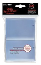 Ultra Pro Clear Standard Size Deck Protectors - 100 ct. - $9.78