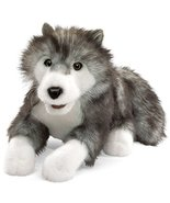 Folkmanis Timber Wolf Hand Puppet - $37.79