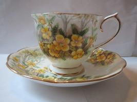 Royal Albert Patridge Pea Pattern Cup and Saucer - $40.00