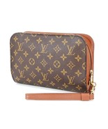 Authentic LOUIS VUITTON Orsay Monogram Pochette Clutch Bag Purse #33383B - $249.00