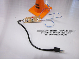 "Samsung 46"" LNT4661FX/XAA IR Sensor Board BN41-00850A with cables - $11.30"