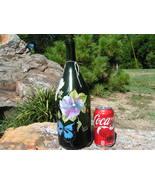 Old Champagne bottle art piece Signed bz - $69.98