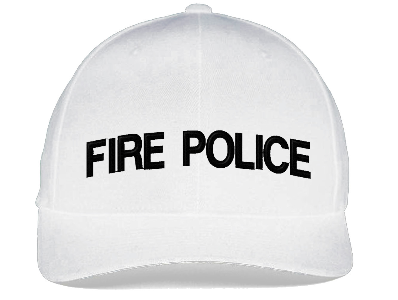 FIRE POLICE Flexfit, Fine Finished Embroidery Hats