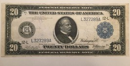 Reproduction Copy $20 Federal Reserve Note 1914 Grover Cleveland, San Francisco - $2.96