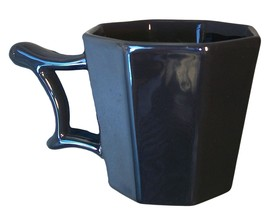 Starbucks Limited Edition Holiday 2013 Silver Metallic Gray 14 Oz Mug Octagon Sh - $24.74