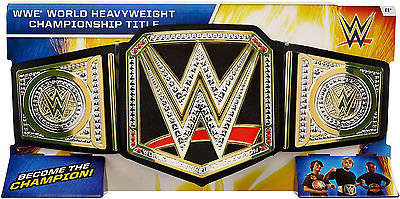 WWE World Heavyweight Championship Toy Title Belt Replica New Title Wwf Cena
