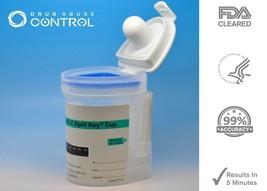 5 Panel Drug Test - EZ Urine Flat Cup Drug Tests 5 Drugs - Free Shipping! - $4.14