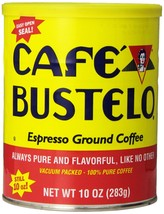 Caf Bustelo Coffee Espresso, 10 Ounce Cans (Pack of 4), Packaging May Vary. - $40.50