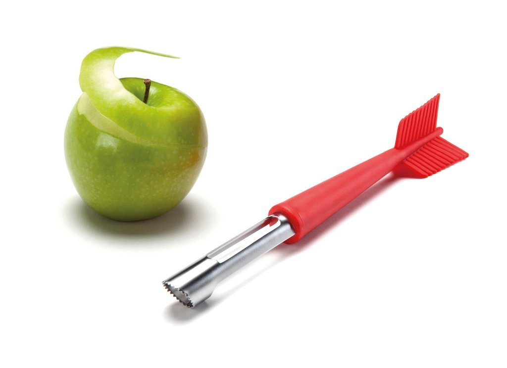 Apple Shot Corer Peeler Funky Original Design OTOTO STUDIO Home Kitchen Cooking