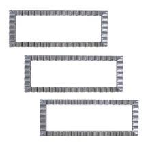 "Party Essentials N146351 Hard Plastic Decorative Wavy Trays, 14"" X 6"", W... - €16,68 EUR"
