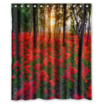 Sunset #03 Shower Curtain Waterproof Made From Polyester - $31.26+