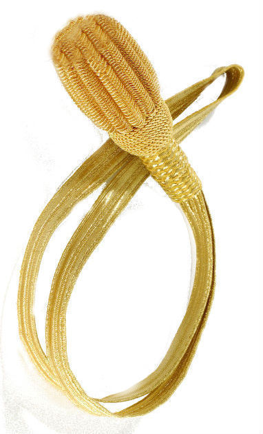 US Navy Officers REGULATION GOLD SWORD SABRE KNOT New Tassel CP Brand Hi Quality