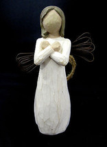 "Willow Tree Demdaco Angel SIGN FOR LOVE Figurine 2003 Susan Lordi 4.5"" - $21.57"