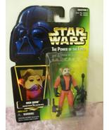Star wars power of the force nien action figure blaster pistol hasbro ke... - $16.82