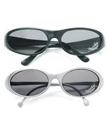 Just Married Groom Bride Sunglasses Silver Black His or Hers Wedding Gif... - $12.98