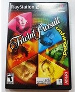 Trivial Pursuit Unhinged (Sony PlayStation 2, 2004) Complete in original... - $7.91