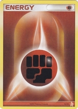 Fighting Energy 11/11 Lucario Trainer Kit Pokemon Card - $0.89